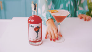 Load and play video in Gallery viewer, Blood Orange & Vanilla Martini - 500ml (4 serves)