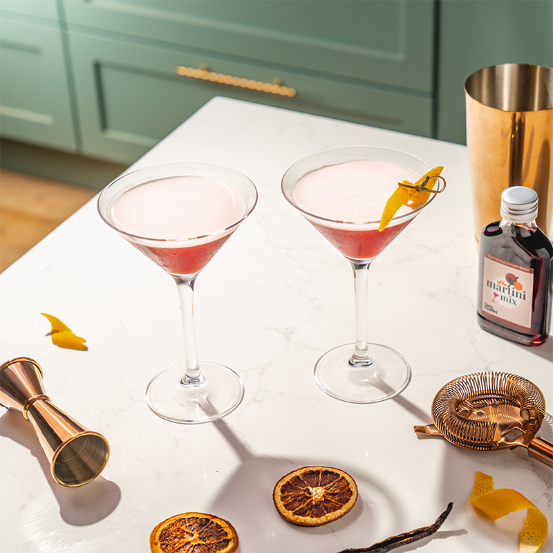 Load image into Gallery viewer, Blood Orange & Vanilla Martini - 500ml (4 serves)