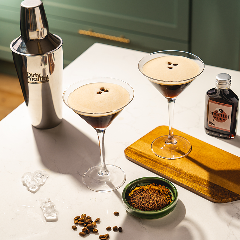 Load image into Gallery viewer, Cocktail Gift Set - Espresso Martini - Silver