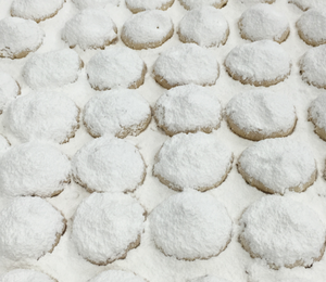 Kourambethes White Powdered Cookies