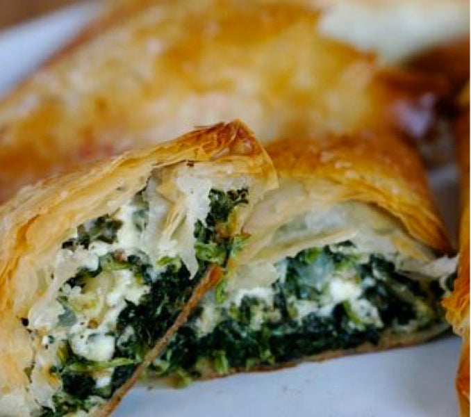 Pitas (Greek Spinach or Cheese Pies)