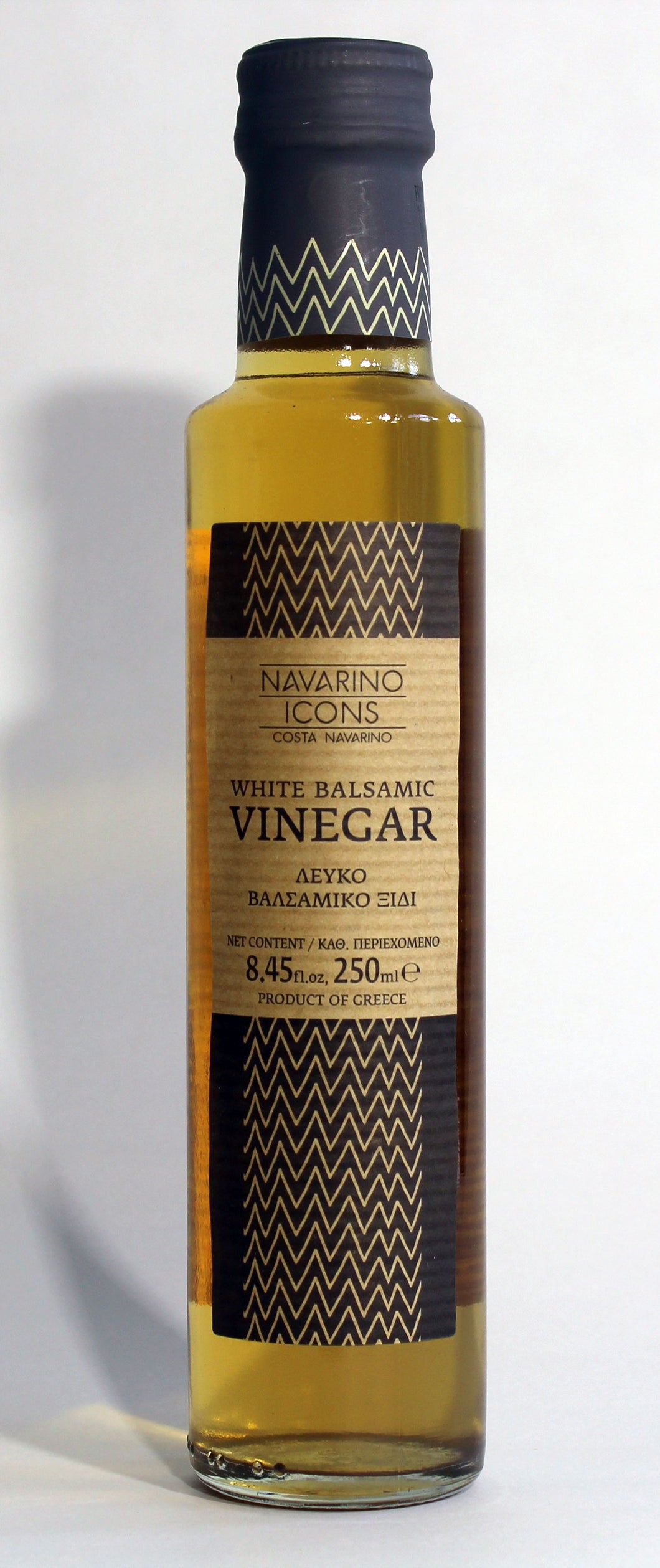 Vinegar white Balsamic Navarino Icons 8.54 oz.