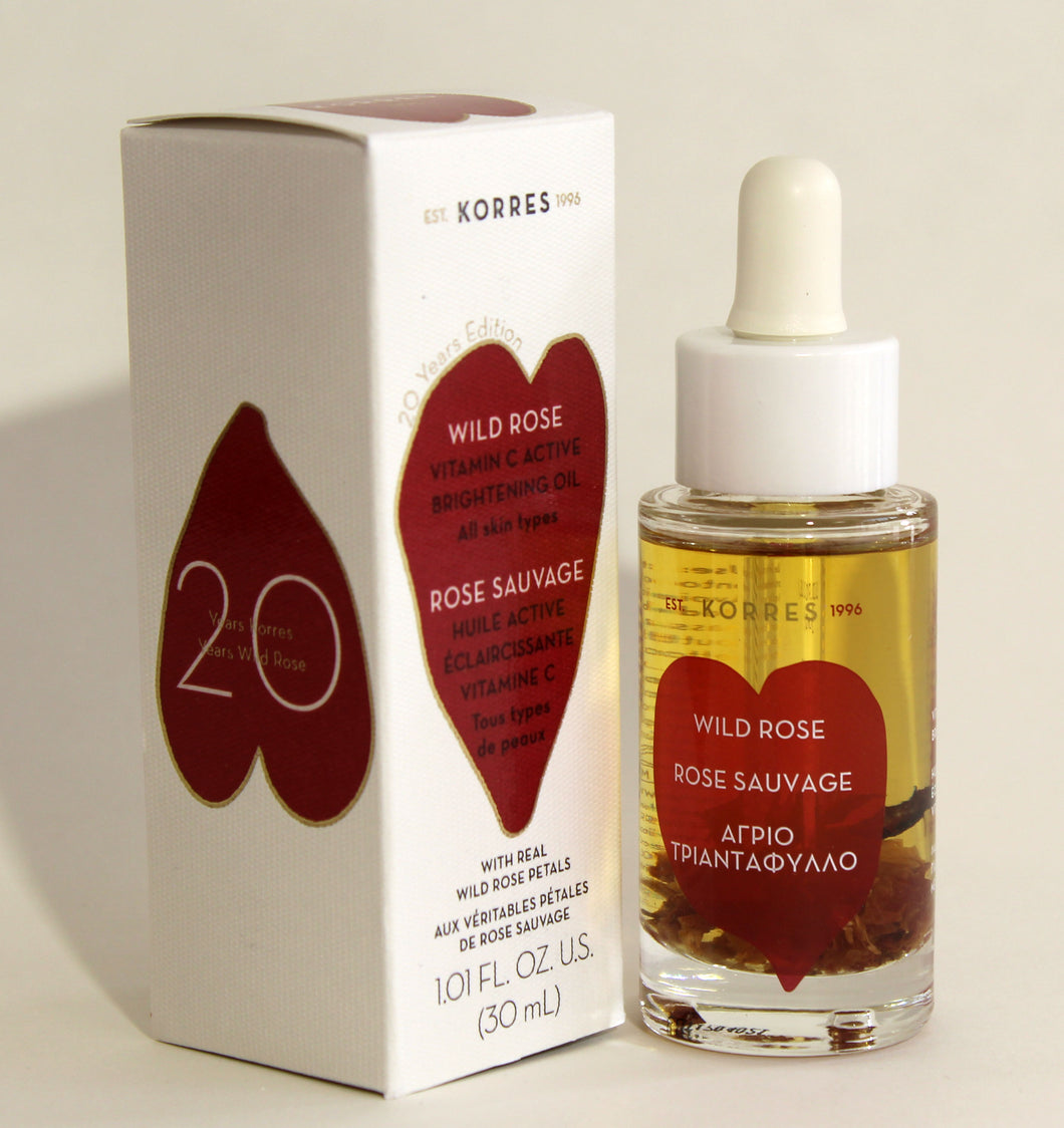 Korres Wild Rose Brightening oil for Skin