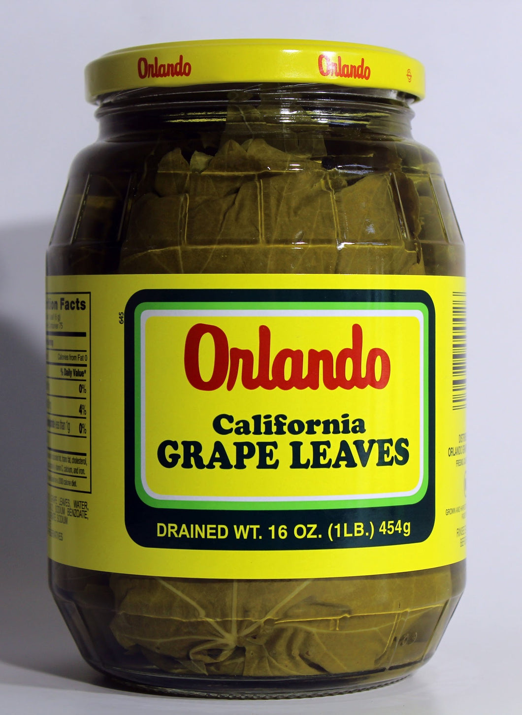 Grape Leaves Orlando 1lb Jar