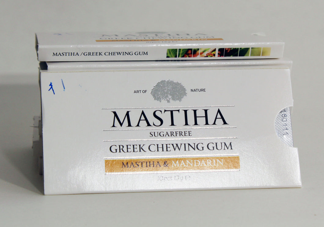 Matina and Mandarin sugar free Gum pkg
