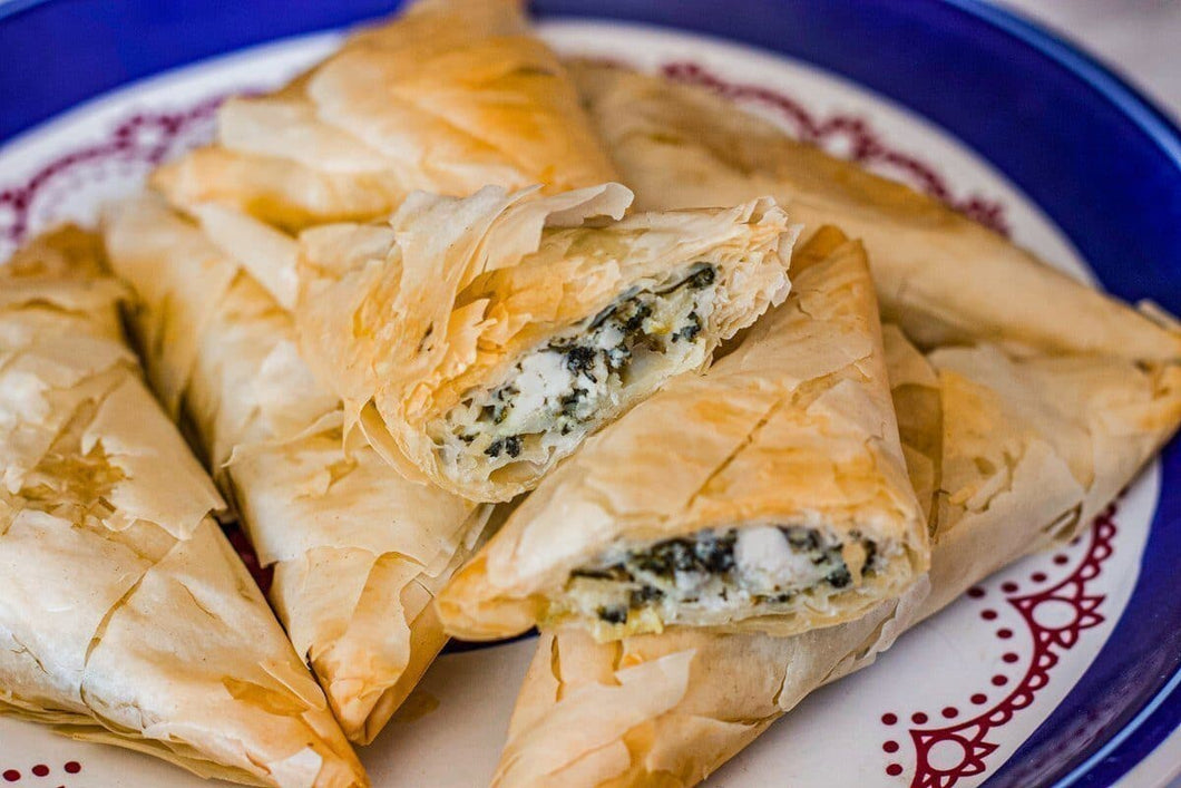 Dinner Size Spanakopita Ala Carte (Spinach and Cheese Pie)