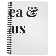 Load image into Gallery viewer, Hot Tea & Jesus Spiral Notebook