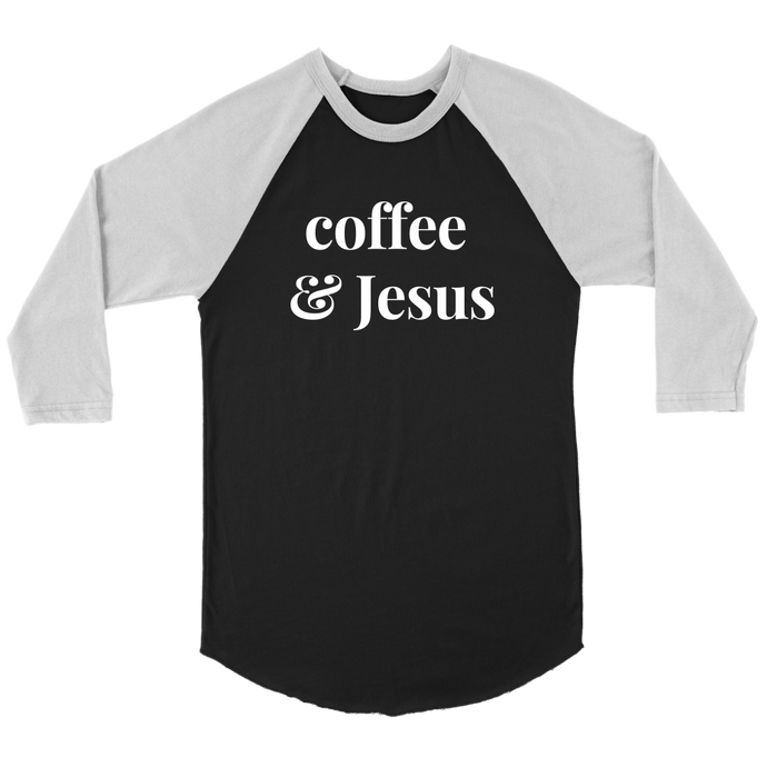Aniston Coffee & Jesus Tee