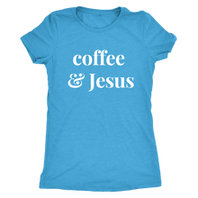 Load image into Gallery viewer, Aniston Coffee & Jesus Tee