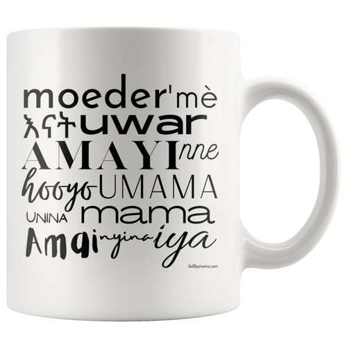 Mother in African Languages Mug