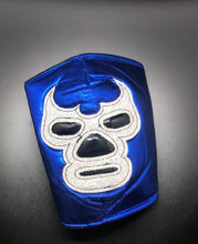 Load image into Gallery viewer, Blue Demon Luchador Face Mask