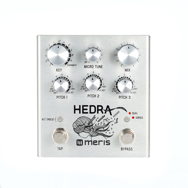 Meris Rhythmic PrismHedra Pitch Shifter Shifting Pedal