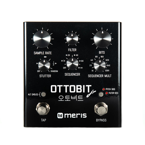 Meris Ottobit Jr Bit Crush Crusher Sequencer Pedal