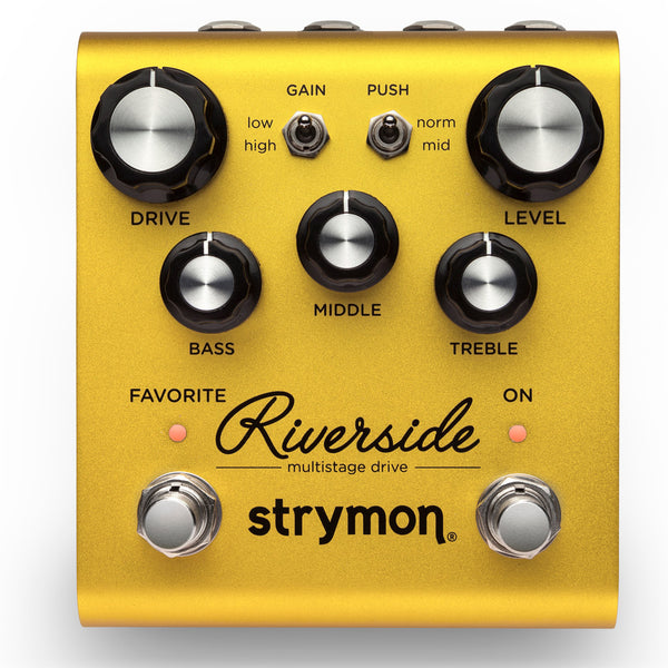 Strymon Riverside Multistage Drive Overdrive Distortion Pedal