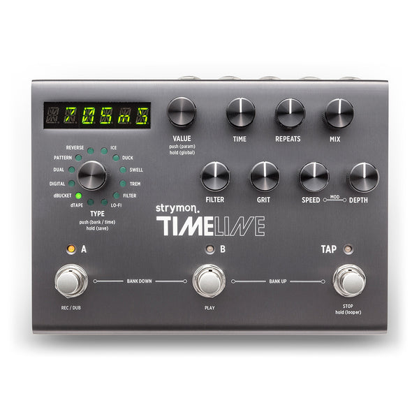 Strymon Timeline Digital Analog Delay Looper Pedal