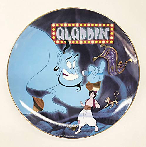 "Bradford Exchange Aladdin ""A Friend Like Me"" Collectible Porcelain Plate 19.6cm"