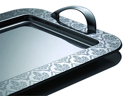 Giorinox Tray with Handles – 35cm 18/10 Stainless Steel Damasco