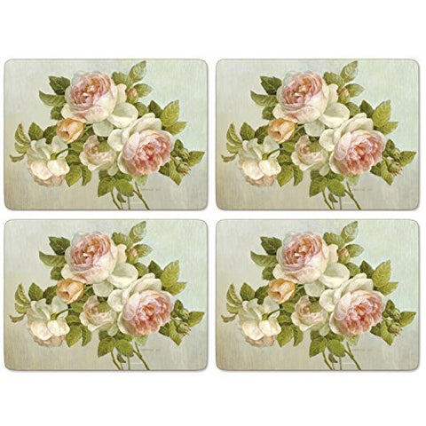 Pimpernel - Antique Rose Placemats - Set Of 4 (Large)