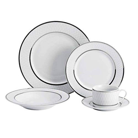 Mikasa Leo Platinum 40 Piece Dinner Set