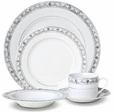 Mikasa Chadwick Grey 40 Piece Dinner set service for 8 Porcelain 5243213