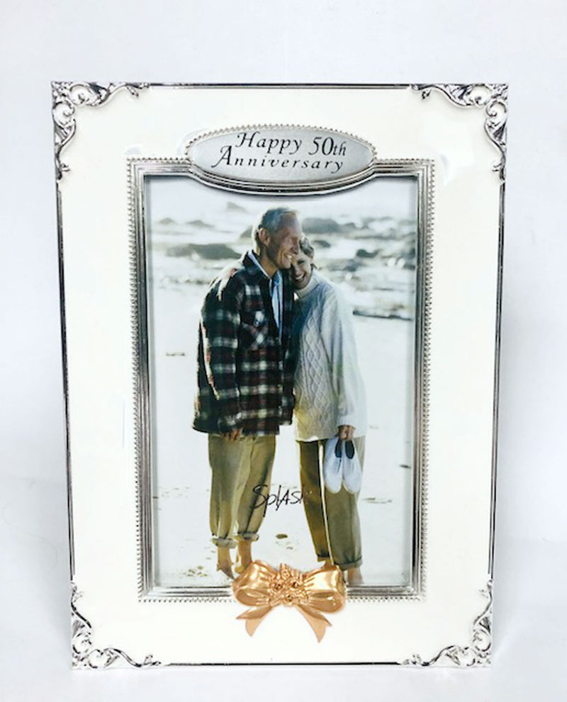 50th Anniversary Picture Frame 4x6""