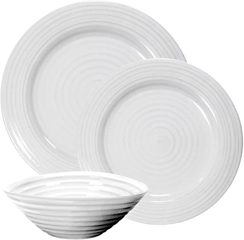 Sophie Conran White 12 Piece Set Service for 4
