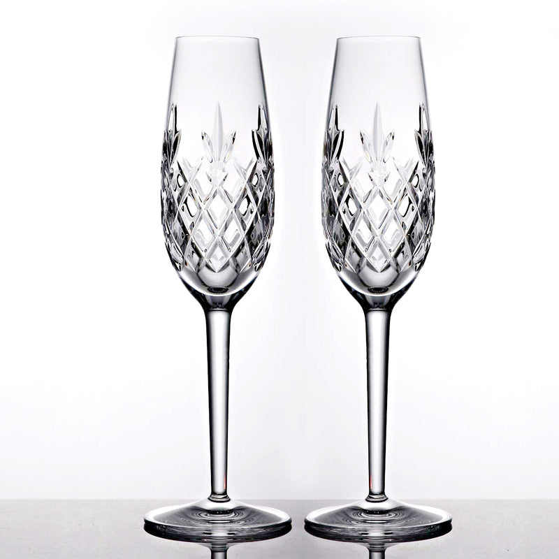 Waterford Crystal Plaza Flute Pair 1052593