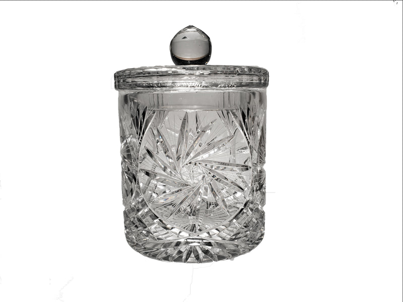 Pinwheel Crystal Cookie Jar 1.5L