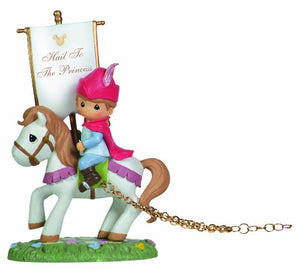Precious Moments 104402 Disney Showcase Collection, Birthday Gifts, Hail to The Princess, Disney Birthday Parade, Resin Figurine
