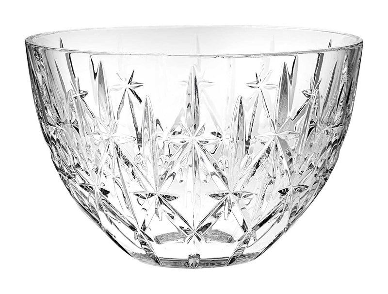 "Waterford Sparkle Bowl 9"" Crystal"