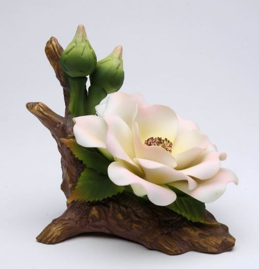 Cosmos English Rose Figurine 5""