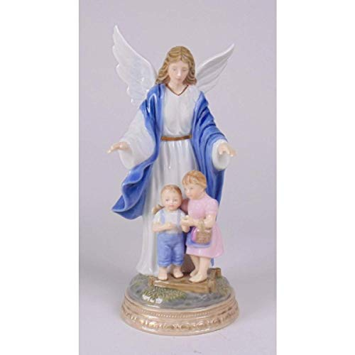 Cosmos Guardian Angel with Kids, White