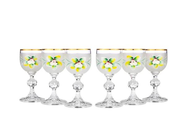 Joseph Sedgh Bohemia Liqueur Glasses 1.5oz. 6-Piece set