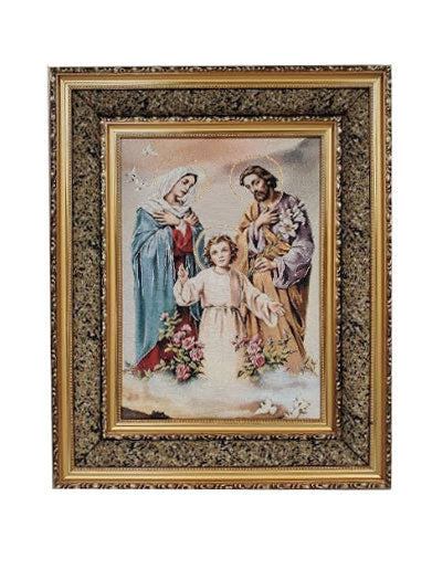 "Holy Family Frame 17"" x 21"""