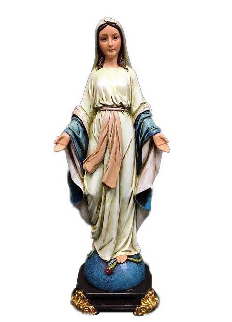 Mary Sacred Heart Figurine 12""