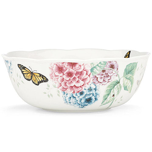 "Butterfly Meadow Bowl Round 9.8"" Diameter - 3.6"" High #841012"