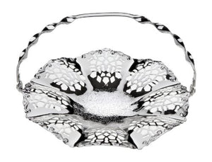 Cake Dish Tray Silver Plated British Made With Special Tarnish Resistant Finish That Never Needs Silver Polishing