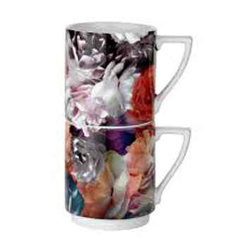 Portmeirion Ted Baker 2 Mugs Technicolor Bloom