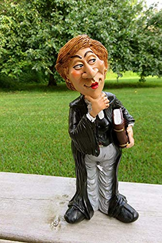 "Lawyer Female Statue 10"" Tall"