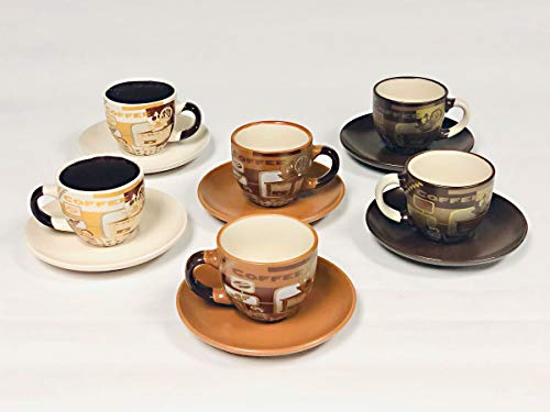 Success Cappuccino Set 6 Cups & 6 Saucers Coffee Mill Style