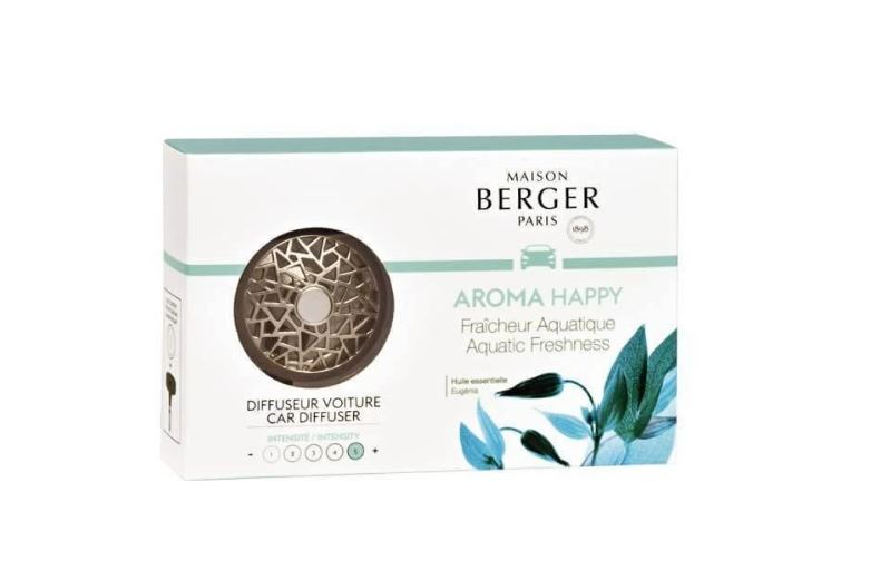 Maison Berger Car Diffuser Aroma Happy (Pick Up Only)
