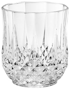Cristal D'Arques Longchamp, double old fashion 10.75-oz Set of 4