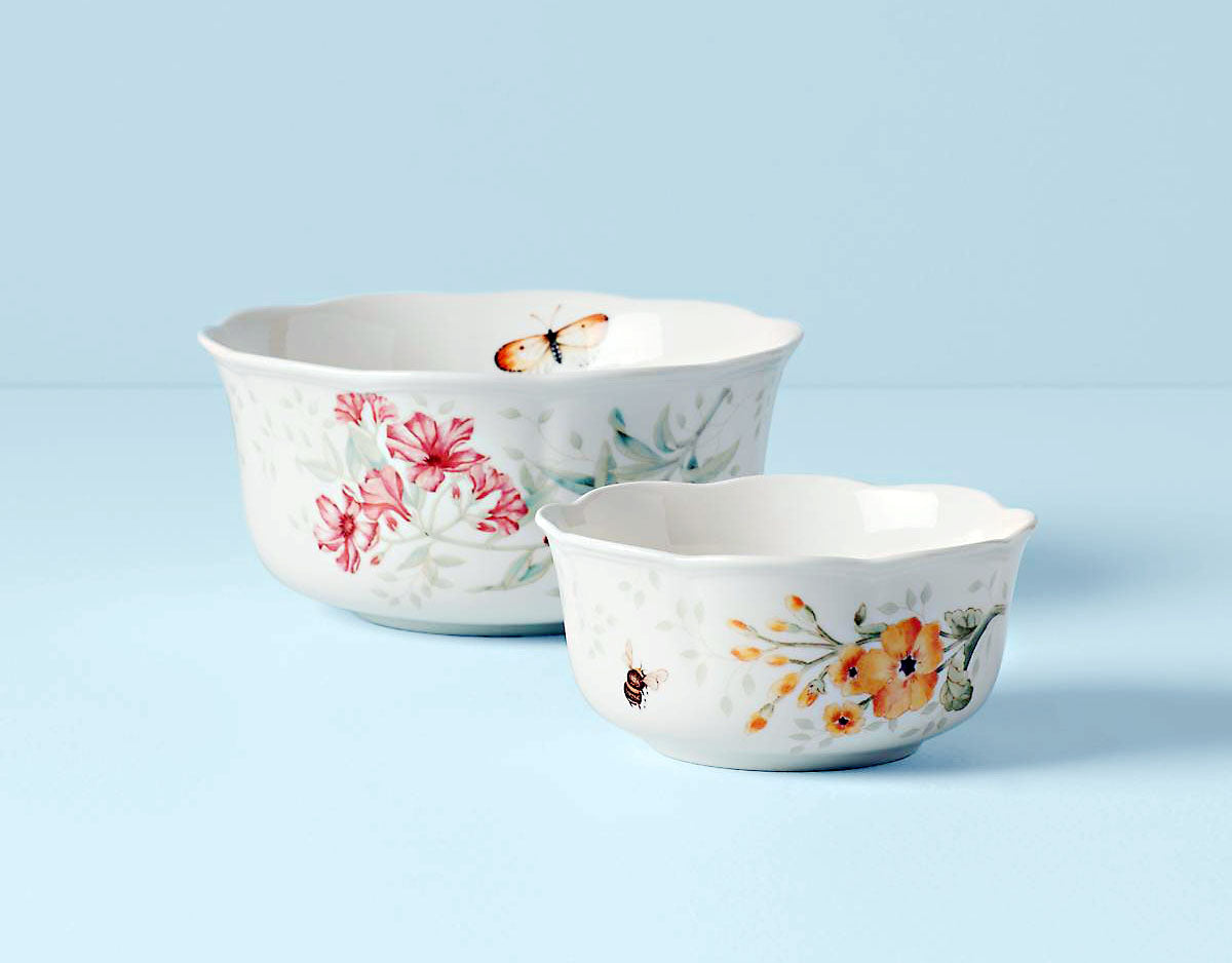 Butterfly Meadow Bowls 2 Piece Set 820579