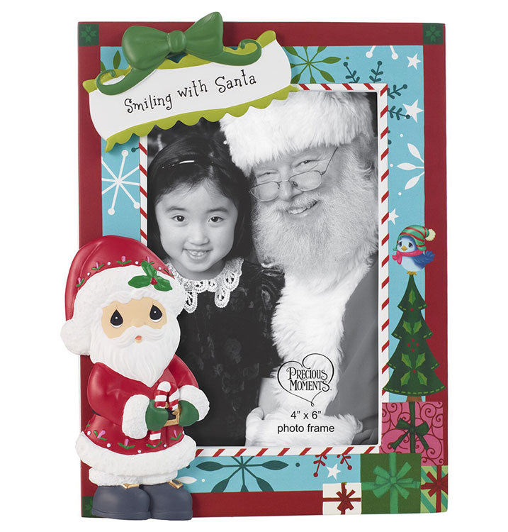 "My 1st Christmas Visit with Santa 201411 Frame 4"" x 6"" Photo"