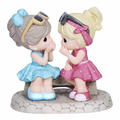 Precious Moments Two Girls Sharing Secrets Figurine