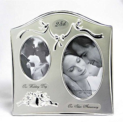 HAPPY 25TH ANNIVERSARY PHOTO FRAME
