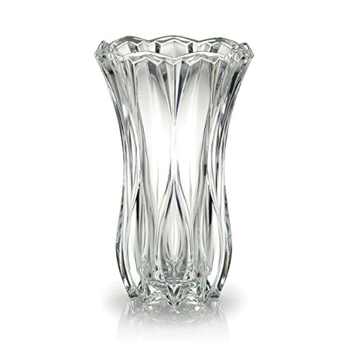Celebrations by Mikasa Blossom Crystal Vase, 12-Inch