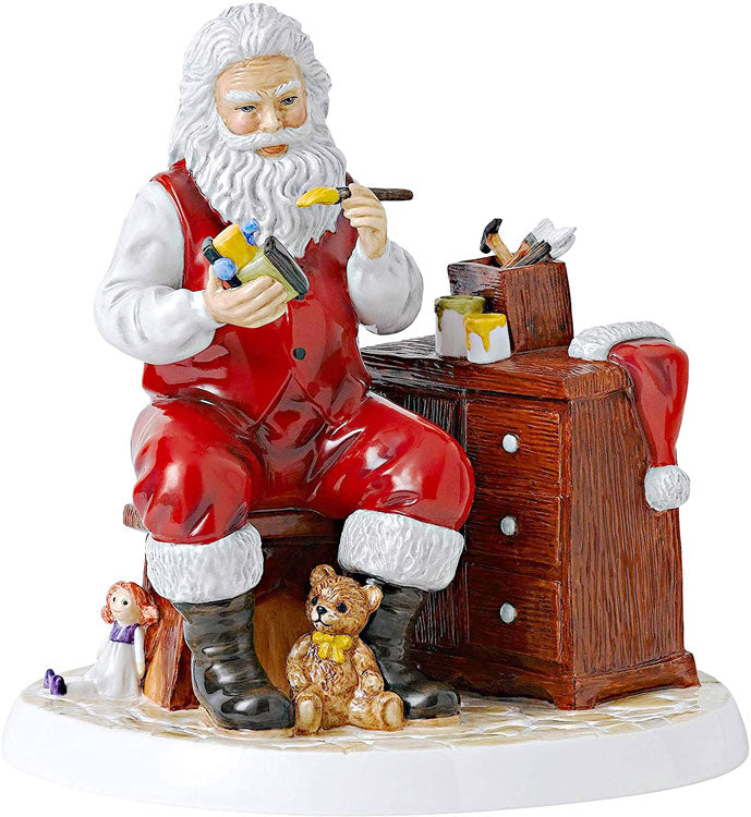 "Royal Doulton Santa's Work Shop 8.3"" HN5932 Collectible Figurine"