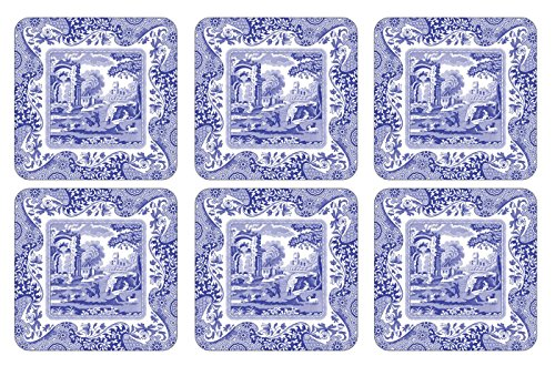 Blue Italian Coasters Set of 6