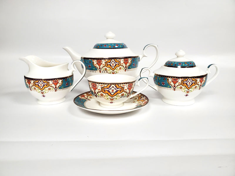 Empress Tea Set 17-Piece